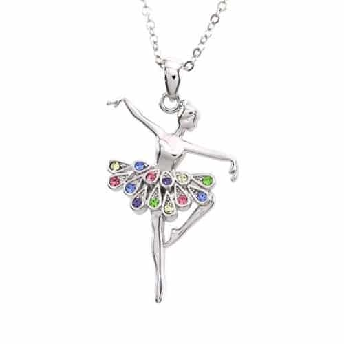 Dancing Ballerina Necklace