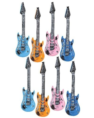 Inflatable Rock 'N Roll Electric Guitars