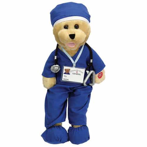 Singing Bear in Scrubs