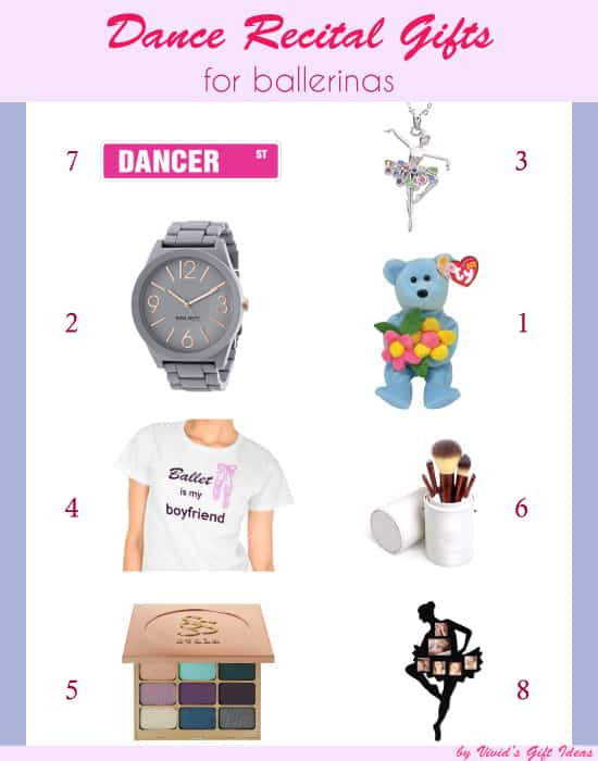 Dance Recital Gifts for Adult Ballerinas