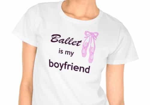 Ballet is My Boyfriend Tee