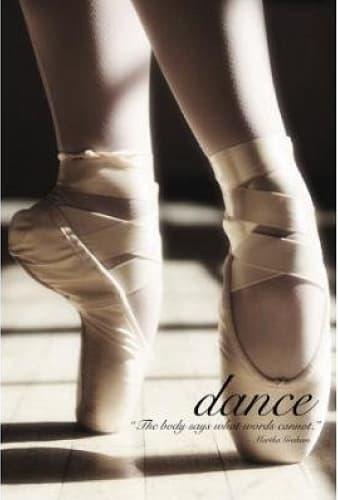Dance Art Print Poster
