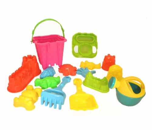 15-Piece Beach Sand Toys Set