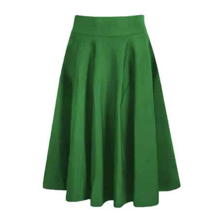 PrettyGuide Women High Waist Pleated Midi Skirt