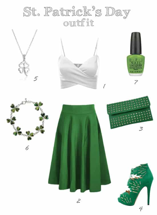 Cute and Chic St Patty's Outfit