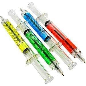 Syringe Shot Ink Pens