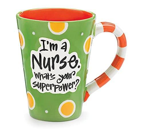 Super Power Nurses Mug