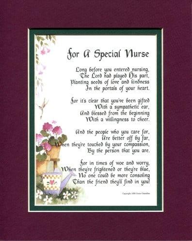 For A Special Nurse Poem