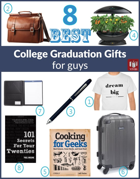 College Graduation Gifts for Him
