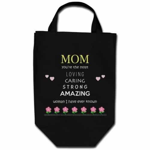 Amazing Mom Fabric Shopping Bag
