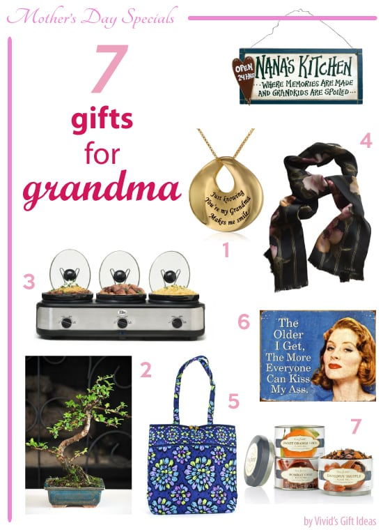 Mother's Day Grandma Gifts on Amazon