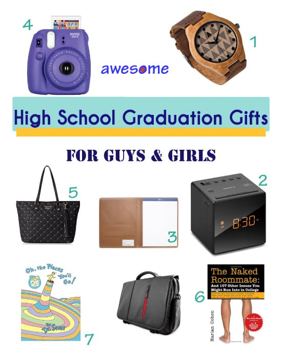 High School Graduation Gifts for Boys and Girls