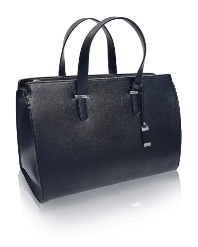 Leather Laptop Work Tote Bag