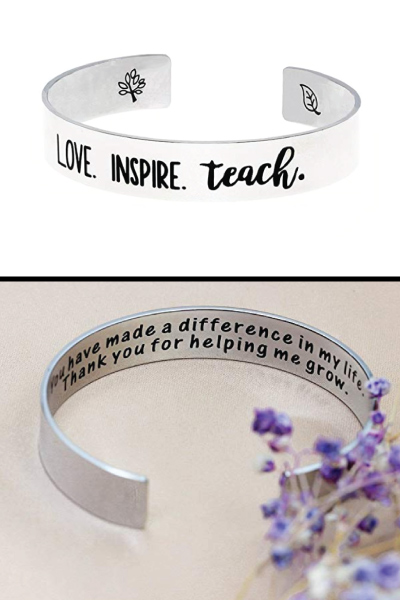 Ms. Clover Gifts for Teacher Bracelets