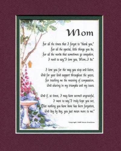 Poem for Mom