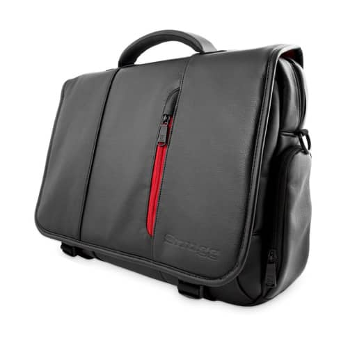Snugg Leather Messenger Laptop Bag