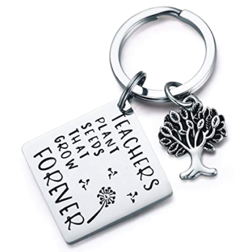 CJ&M Teachers Quote Keychain