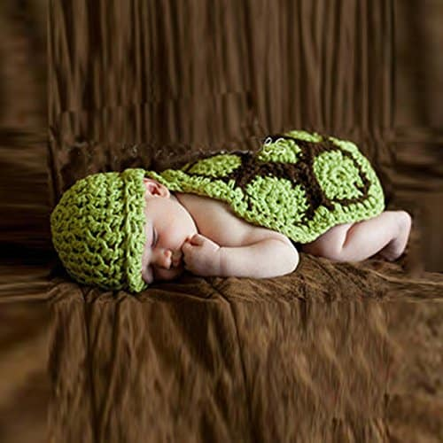 Green Turtle Baby Outfit