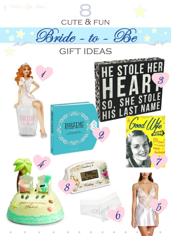 Gifts for Bride to Be