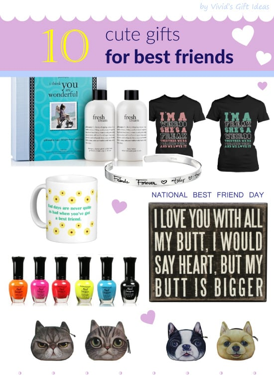 National best friend day gift ideas for best friend vivid 39 s for Best cheap christmas gifts for friends