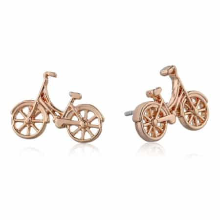 Fossil Bike Stud Earrings