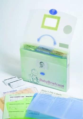 Baby Paperwork Organizer