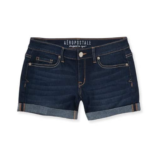 Aeropostale Dark Wash Denim Shorts