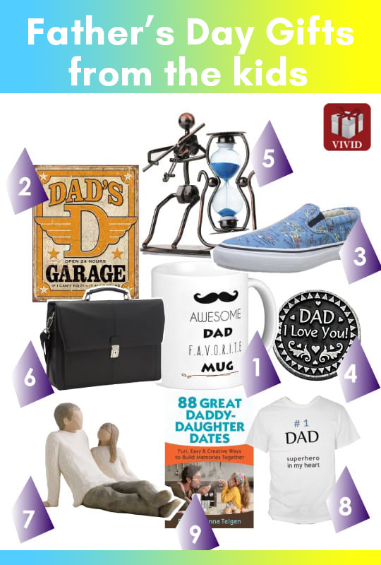 Unique Fathers Day Gift Ideas from Kids