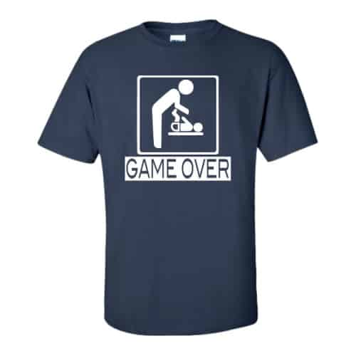 Game Over New Father Shirt