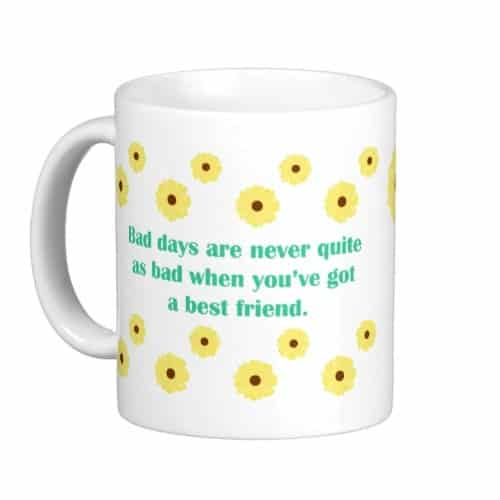 Bestie Mug with Friendship Quotes | gift ideas for best friends