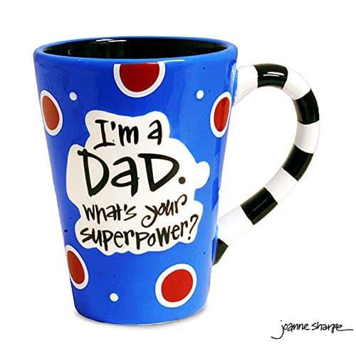 Super Power Dad Coffee Mug