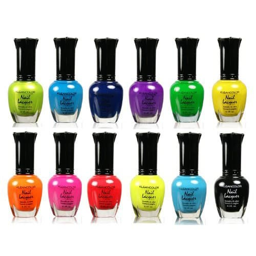 Kleancolor Neon Polish Collection | best friend gift ideas