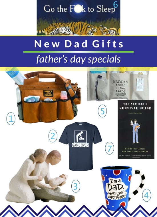 First Father's Day Gifts for New Dad