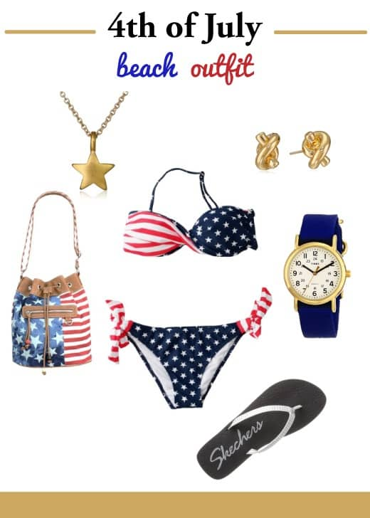 4th of July Outfit for Beach