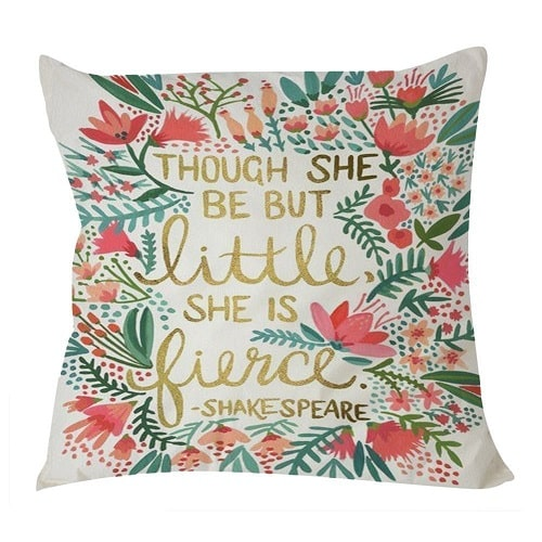 Shakespeare's Quote Pillow