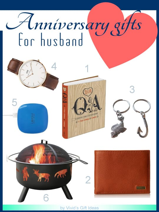 Anniversary Gift Ideas For Husband Vivid S