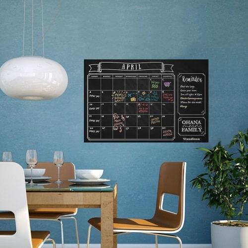 Chalkboard Wall Calendar