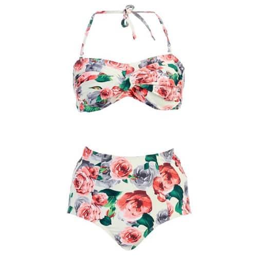 Marina West High Waisted Swimsuit