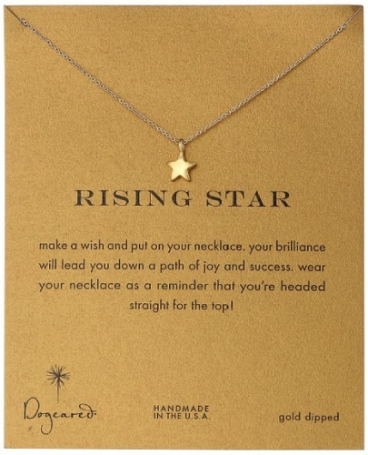 "Dogeared ""Reminders"" Rising Star Necklace"