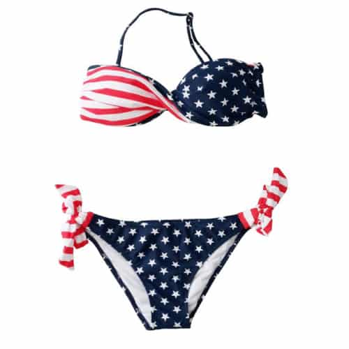 USA American Flag Swimsuit