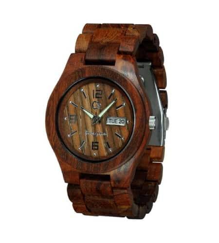 Wooden Watch By Gassen James