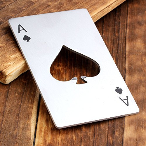 Poker Bottle Opener - farewell gift ideas for coworker