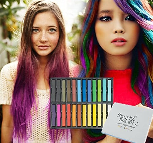 Temporary Hair Coloring Chalks