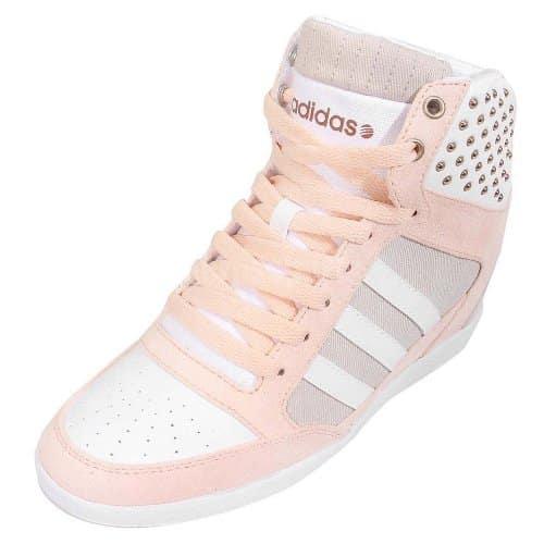 adidas NEO Super Wedge High-Top Wedge Sneaker