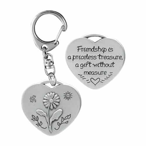 Friendship Heart Decorative Key Ring