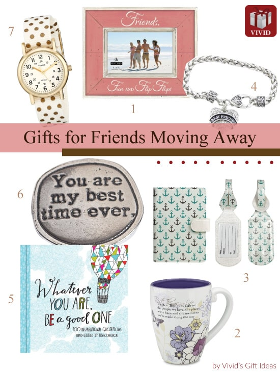 Gifts for Friends Moving Away