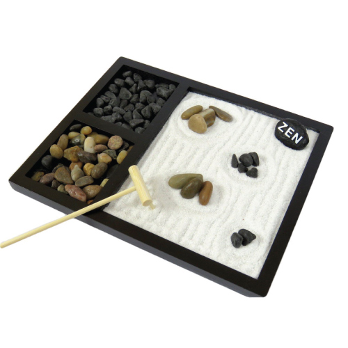 Deluxe Desktop Zen Garden - farewell gift ideas for coworker