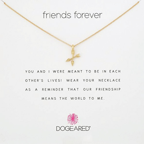 Dogeared Friends Forever Necklace