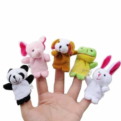 Animal Finger Puppets Set