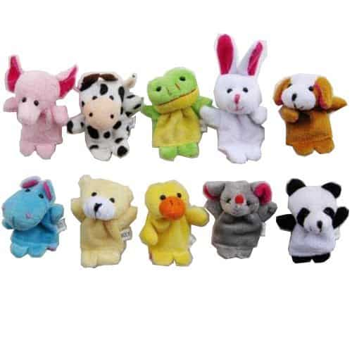 Animal Finger Puppet Set